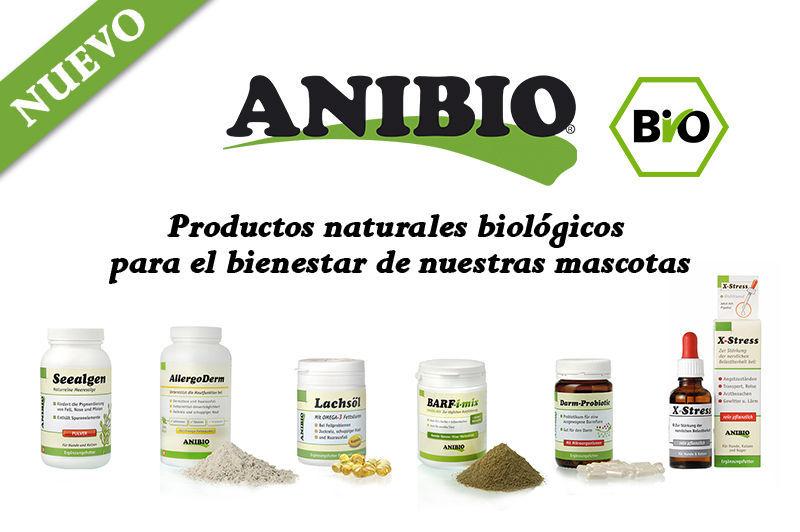 Anibio productos naturales biologicos nuevo en NaturDog