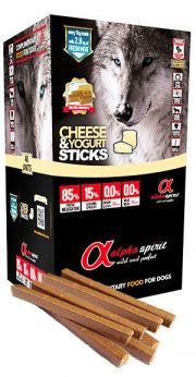 Alpha Spirit sticks cheese yogurt