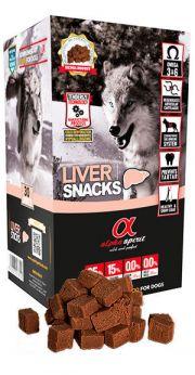 Alpha Spirit snacks liver