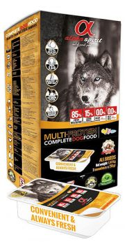 Alpha Spirit snacks multi-protein complete food dogs
