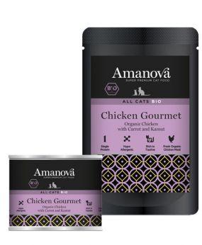 AmaNova bio all cats chicken gourmet