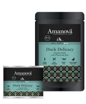 AmaNova bio all cats duck delicacy