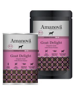 AmaNova bio sensitive dogs goat delight