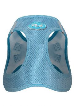 Curli vest air mesh, de color azul cielo