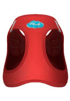 Curli vest softshell, de color rojo