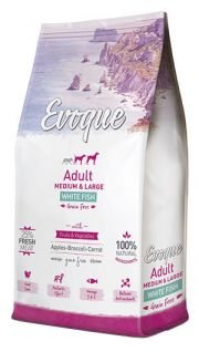 Evoque adult medium and large white fish NaturDog