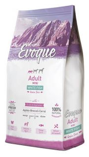 Evoque adult mini white fish NaturDog