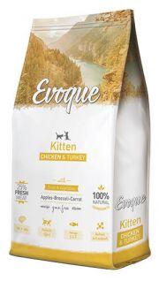 Evoque cat kitten chicken and turkey
