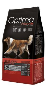 Optima Nova adult active chicken rice NaturDog