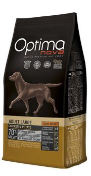 Optima Nova adult large chicken potato NaturDog