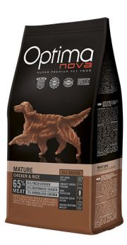 Optima Nova adult mature chicken rice NaturDog