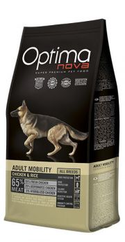 Optima Nova adult mobility chicken rice NaturDog