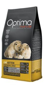 Optima Nova cat kitten chicken and rice