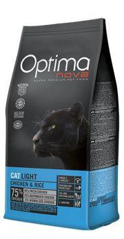 Optima Nova cat light chicken and rice