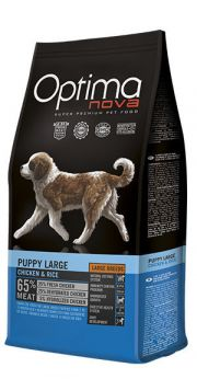 Optima Nova puppy large chicken rice NaturDog