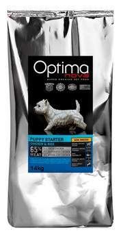Optima Nova puppy starter chicken and rice, formato para criadores