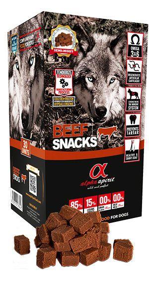 Alpha Spirit snacks beef