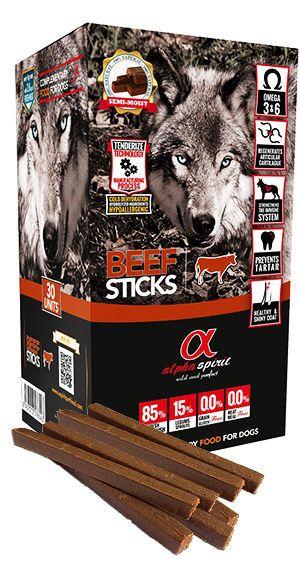 Alpha Spirit sticks beef