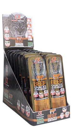 Alpha Spirit cat beef snacks
