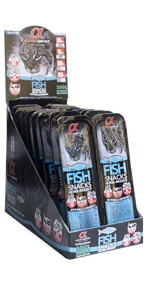 Alpha Spirit cat fish snacks