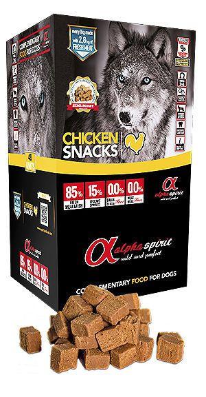 Alpha Spirit snacks chicken