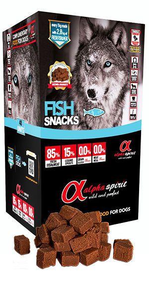 Alpha Spirit snacks fish