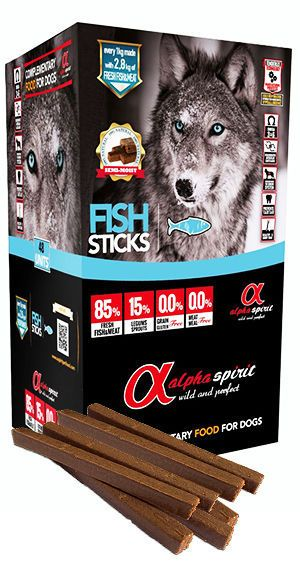 Alpha Spirit sticks fish