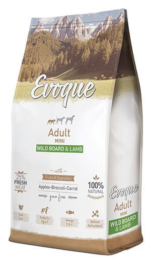 Evoque adult mini wild board and lamb