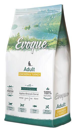 Evoque cat adult chicken and turkey