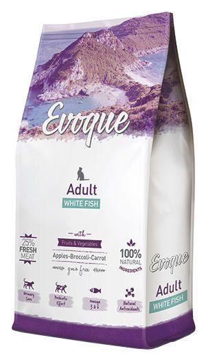 Evoque cat adult white fish