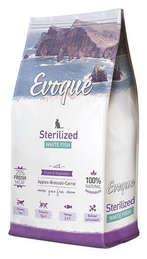 Evoque cat sterilized white fish