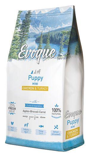 Evoque puppy mini chicken and turkey