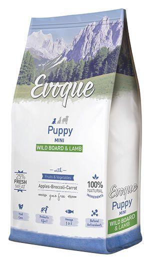 Evoque puppy mini wild board and lamb