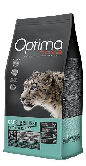 Optima Nova cat sterilised chicken and rice