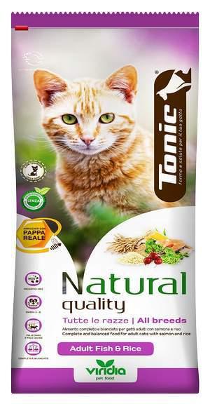 Tonic cat adult fish rice